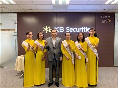 KBSV tiếp đón Chủ tịch - Tổng Giám đốc Công ty mẹ KB Securities Hàn Quốc
