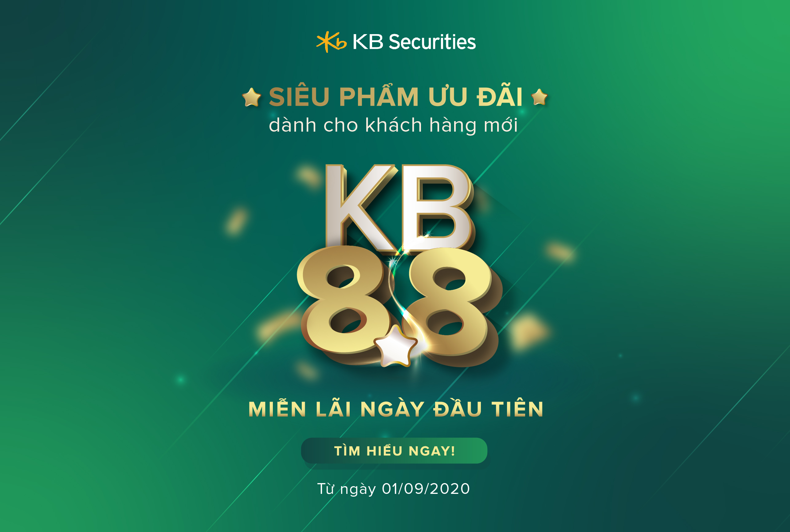 Launching KB 8.8 promotion and reducing standard financial service interest rate - KBSVs strong movement to support investors in the Covid-19 context