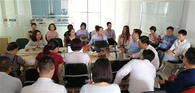 """Phối hợp cùng Ngân hàng Hàng Hải Maritime, KBSV tổ chức chương trình KB Training """"Săn Deal Mùa Bão"""""""