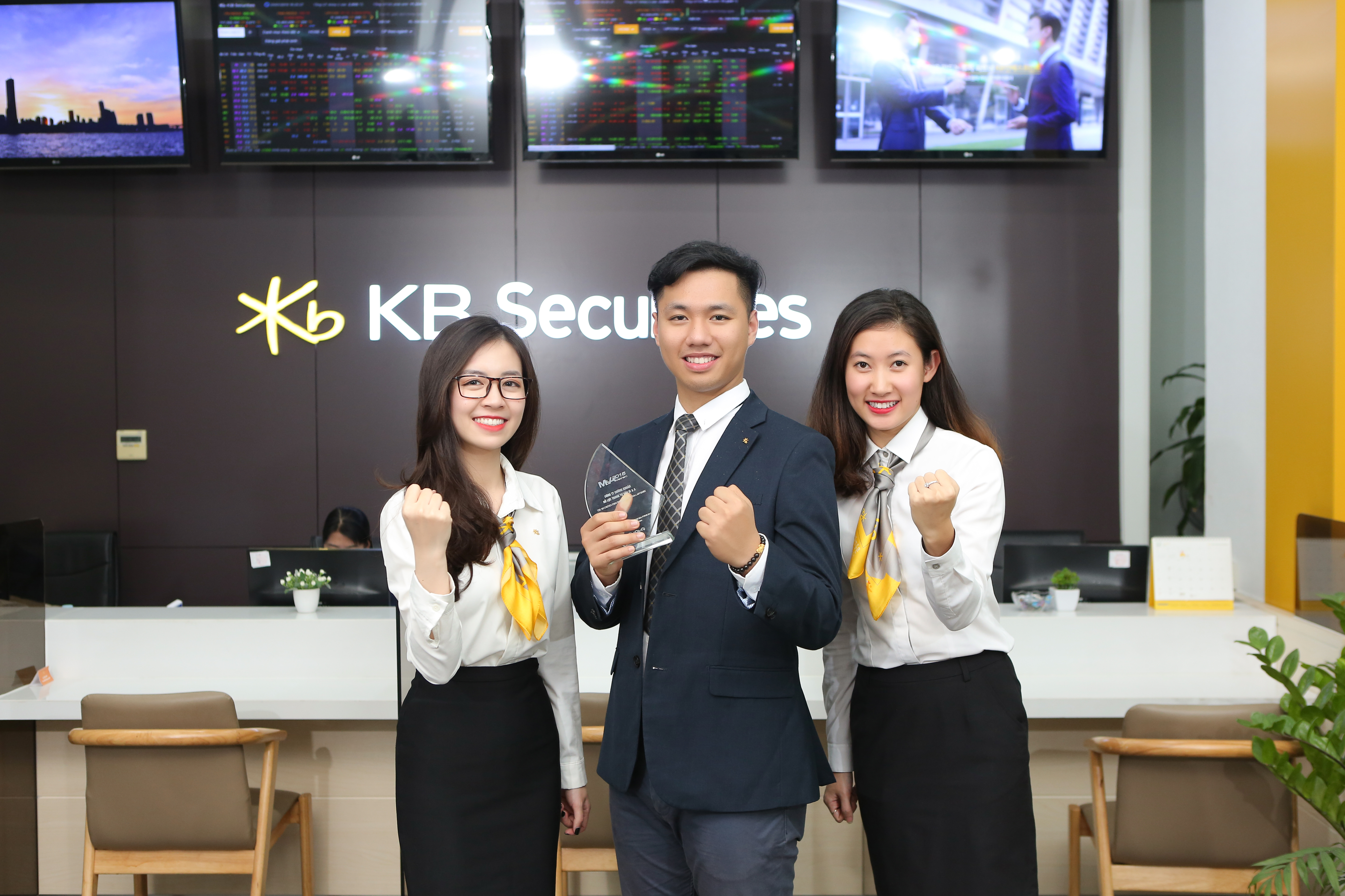 KBSV is officially on Top 10 securities firms with the largest brokerage market share at HoSE