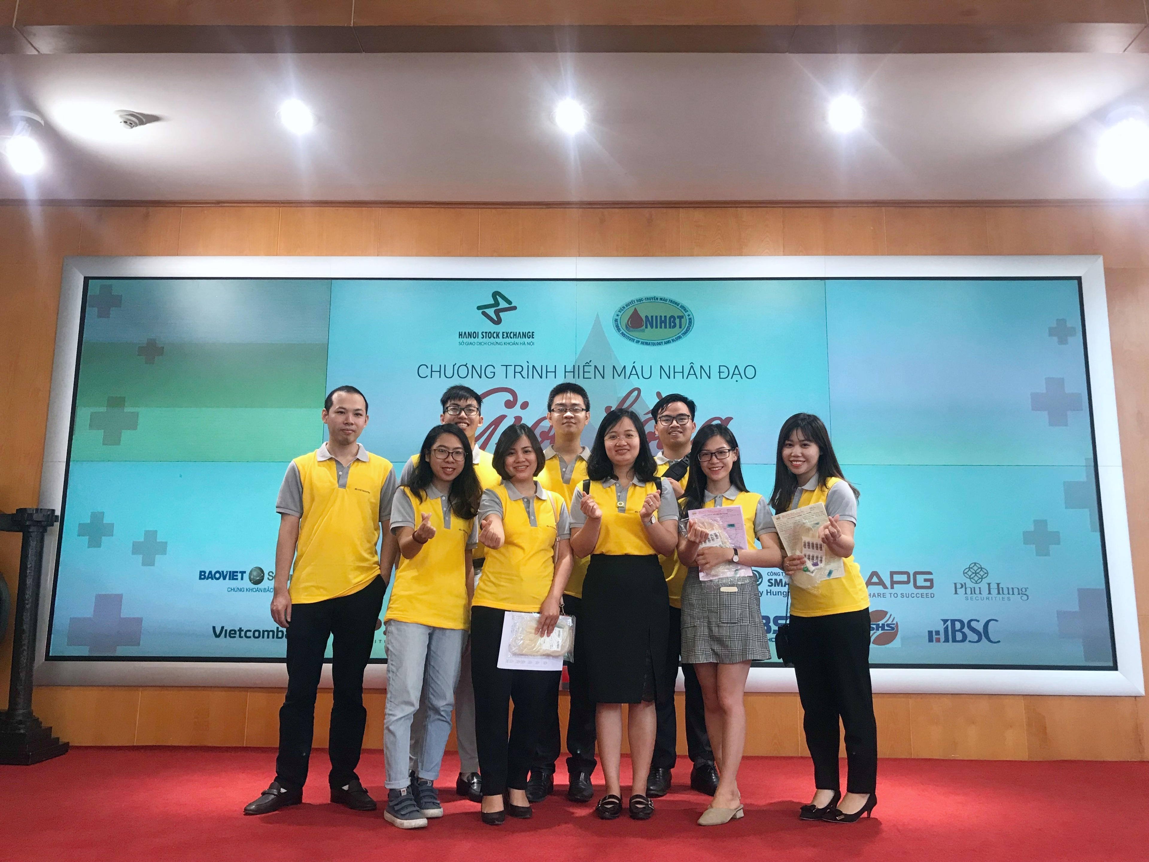 KBSV attend Humanitarian Blood Donation Blood of hope 2019