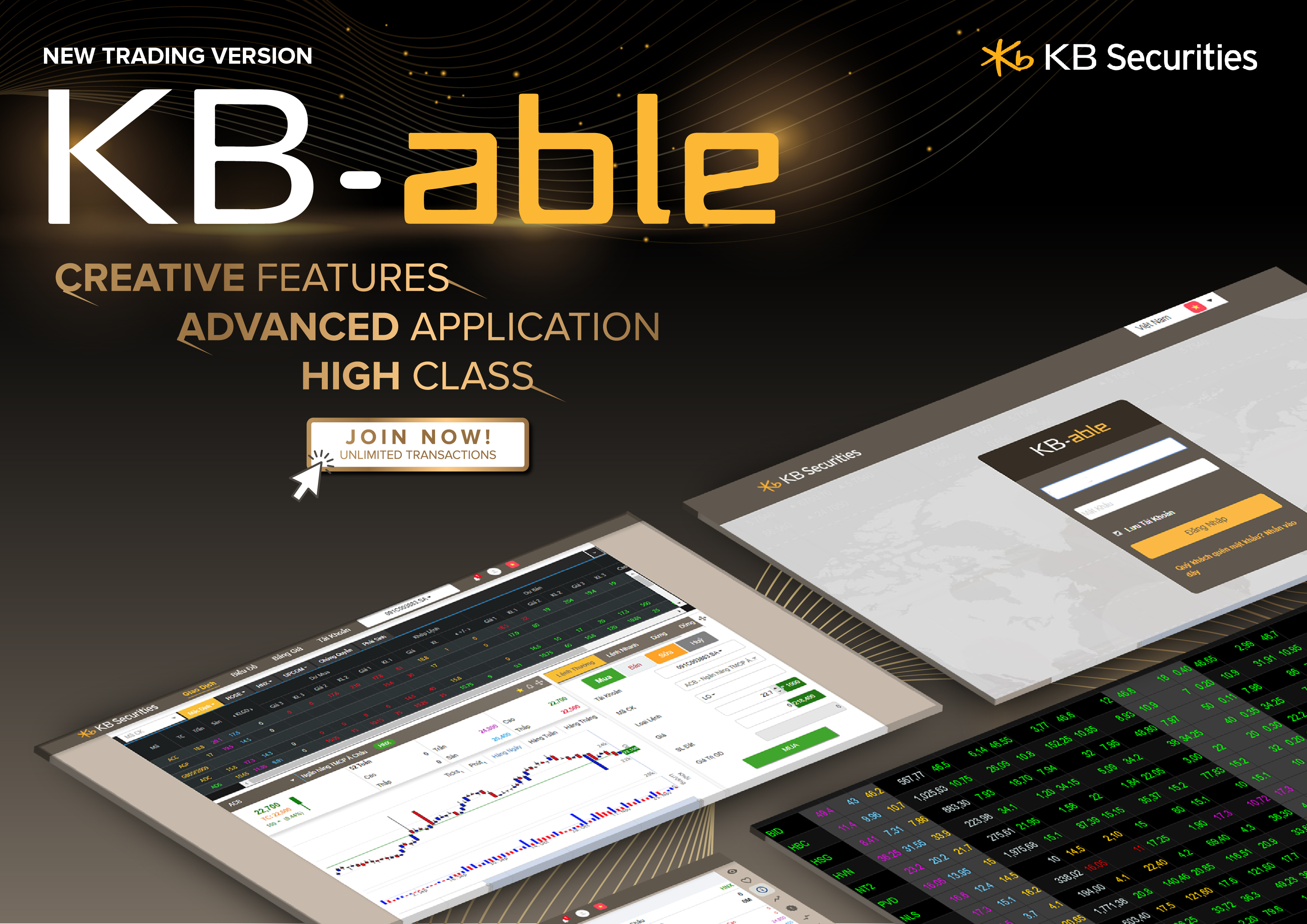 """KBSV launching KB-able - """"unlimited trading system"""