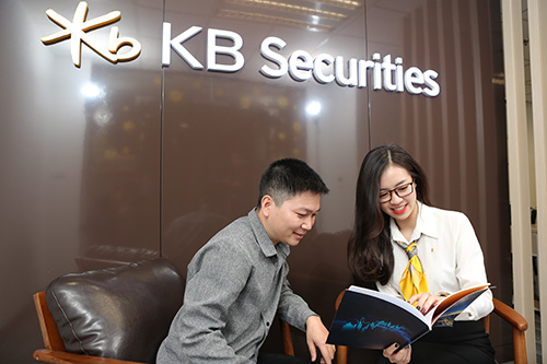 KBSV là công ty chứng khoán do Tập đoàn tài chính KB (Hàn Quốc) đầu tư vốn