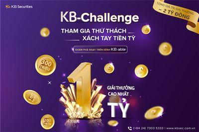 KB-Challenge - Giải thưởng 1 tỷ đồng vẫn đang tìm quán quân