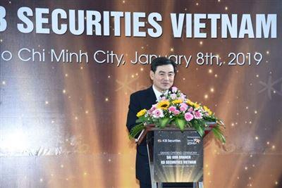 Chứng khoán KB ra mắt Chi nhánh Sài Gòn - Báo Đầu tư