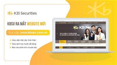 KBSV ra mắt giao diện website mới