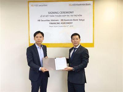 KBSV và Kookmin Bank Tokyo ký kết thỏa thuận tài trợ vốn