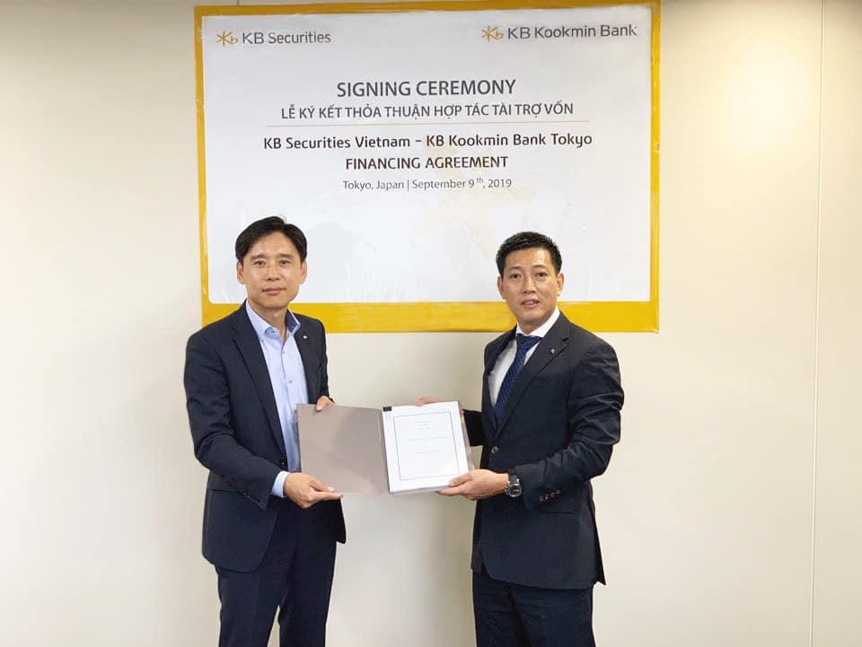 KBSV and Kookmin Bank Tokyo signing the financing agreement - Vietstock