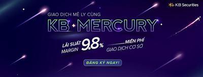 Giao dịch mê ly cùng KB – Mercury