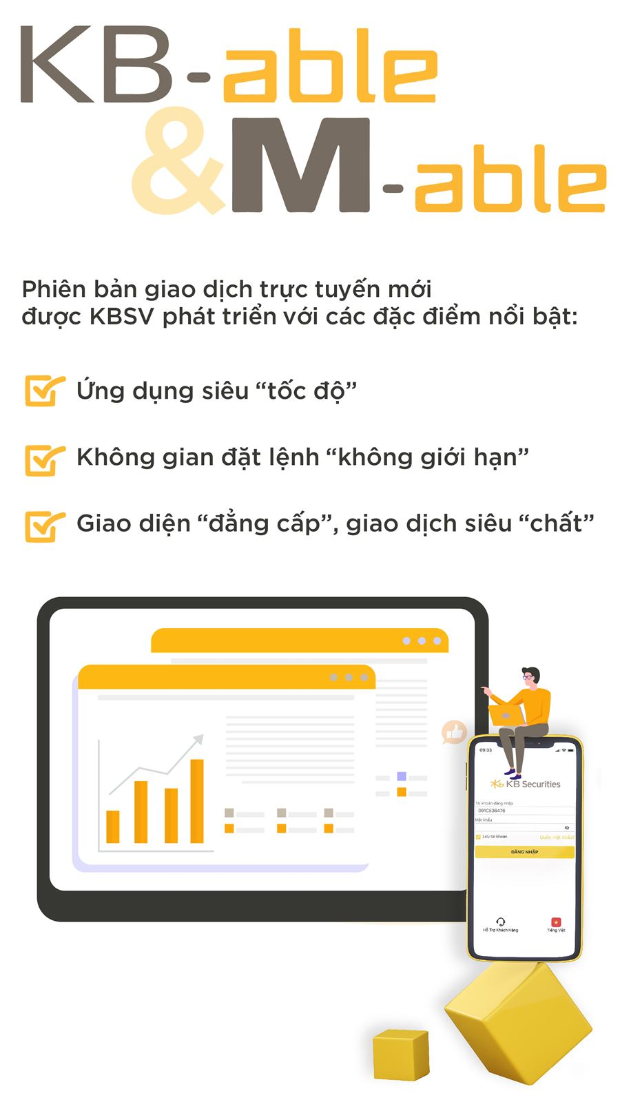 Kênh giao dịch KB-able & M-able