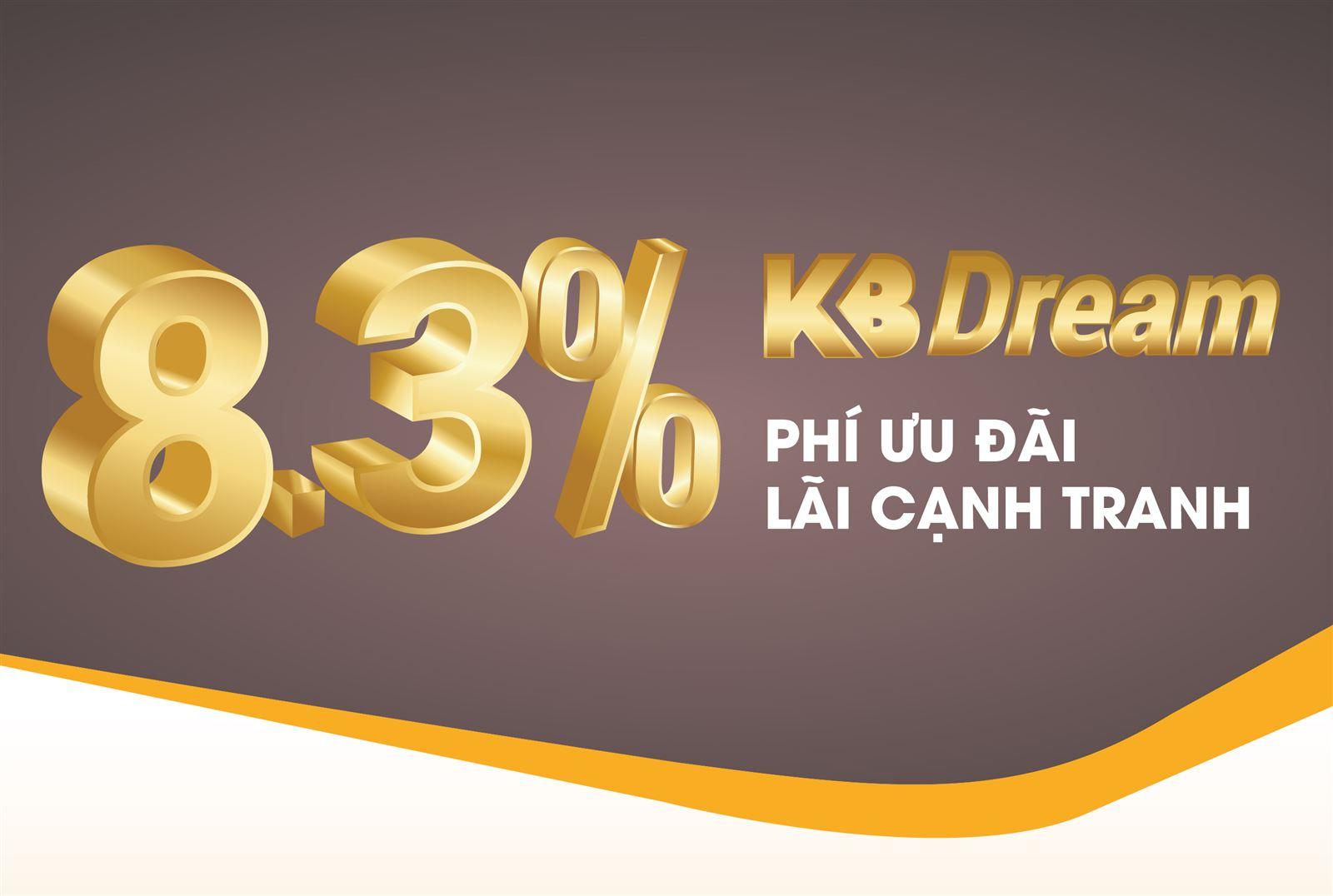 Sản phẩm KB Dream 8.3