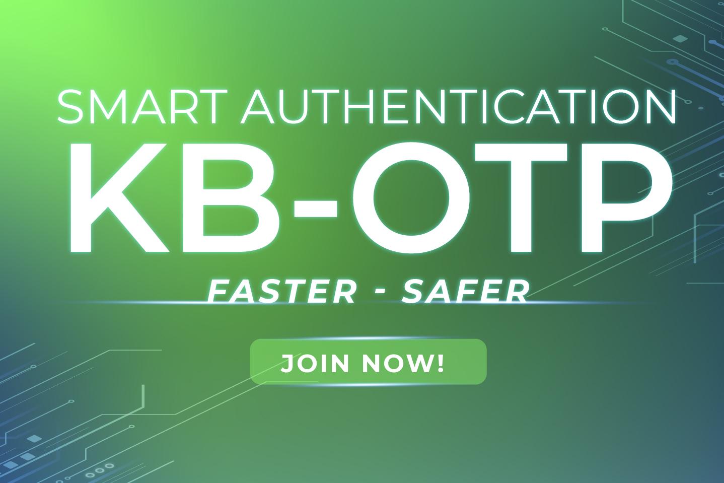 KB-OTP Smart Authentication