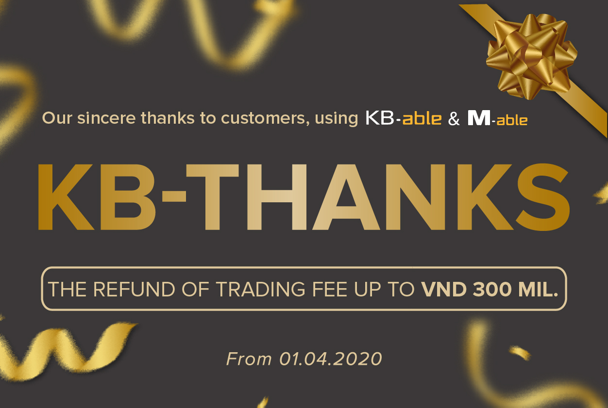KB-Thanks Promotion